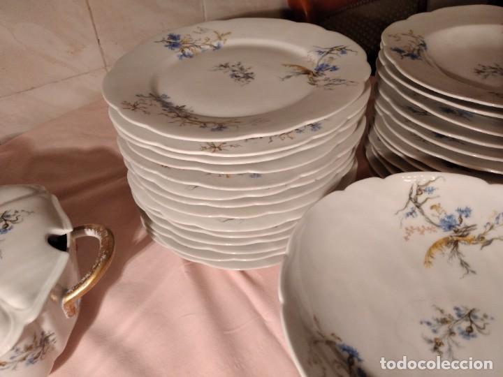 Antigüedades: exquisita VAJILLA DE porcelana Adolphe Hache & Cª V FRANCE 2ª MITAD DEL SIGLO XIX,38 piezas - Foto 16 - 236596115