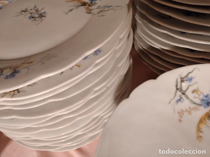 Antigüedades: exquisita VAJILLA DE porcelana Adolphe Hache & Cª V FRANCE 2ª MITAD DEL SIGLO XIX,38 piezas - Foto 17 - 236596115
