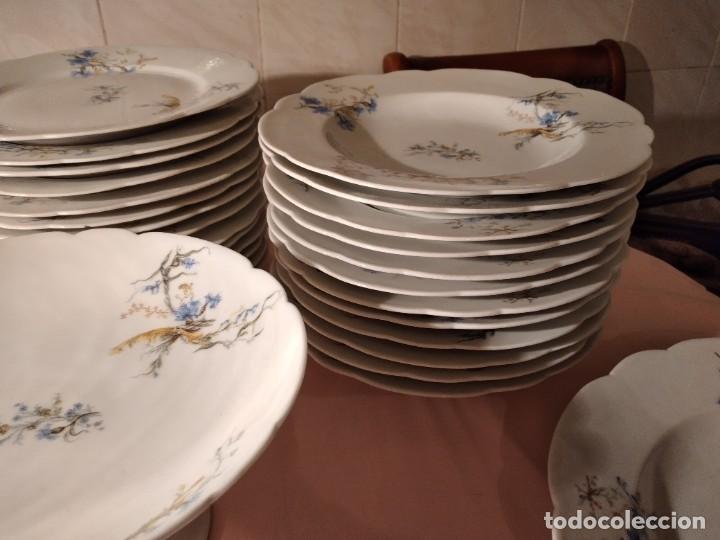 Antigüedades: exquisita VAJILLA DE porcelana Adolphe Hache & Cª V FRANCE 2ª MITAD DEL SIGLO XIX,38 piezas - Foto 18 - 236596115