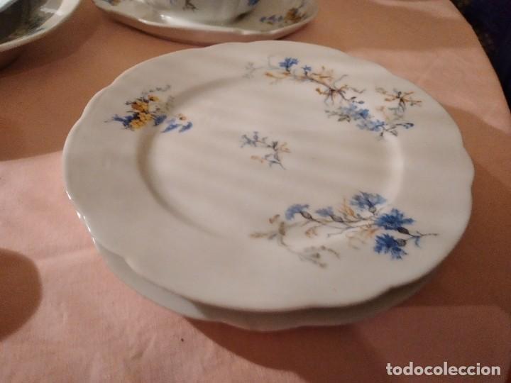 Antigüedades: exquisita VAJILLA DE porcelana Adolphe Hache & Cª V FRANCE 2ª MITAD DEL SIGLO XIX,38 piezas - Foto 19 - 236596115