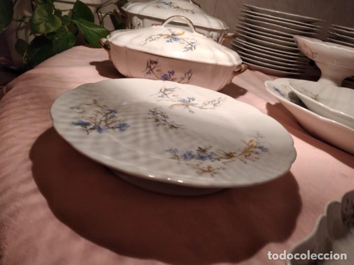 Antigüedades: exquisita VAJILLA DE porcelana Adolphe Hache & Cª V FRANCE 2ª MITAD DEL SIGLO XIX,38 piezas - Foto 21 - 236596115