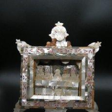Antigüedades: CUADRO ULTIMA CENA NACAR. Lote 236601230