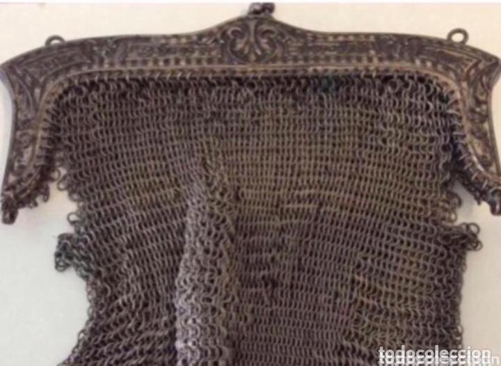BOLSO NO PLATA DEFEXTUOSO (Antigüedades - Moda - Bolsos Antiguos)