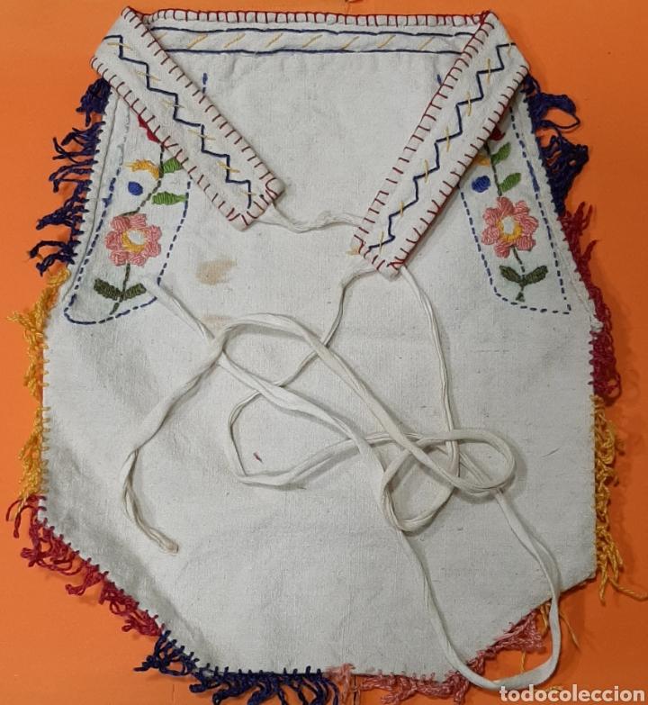 Antigüedades: ANTIGUA FALDRIQUERA BORDADA. INDUMENTARIA POPULAR. - Foto 3 - 236615595