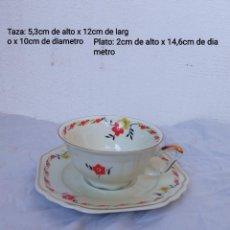 Antigüedades: BONITO SOLITARIO DE CAFÉ DE PORCELANA ELFENBEIN BAVARIA. Lote 236619525