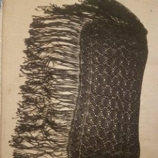Antigüedades: MANTON O SHAL ANTIGUA.. Lote 236621275