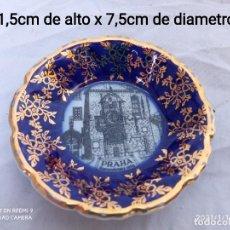 Antigüedades: PLATITO EN MINIATURA LEANDER 1946 ORIGINAL COBALT.. Lote 236623270