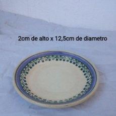 Antigüedades: PLATO DE CAFÉ TERREDEFER HOISY LEROY. Lote 236629665