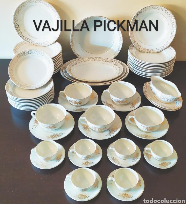 ★62★VAJILLA PICKMAN-LA CARTUJA/SEVILLA. SELLO IDENTIFICATIVO. (Antigüedades - Porcelanas y Cerámicas - La Cartuja Pickman)