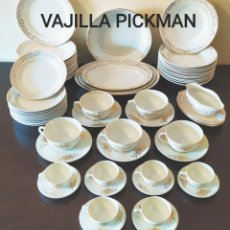 Antigüedades: ★62★VAJILLA PICKMAN-LA CARTUJA/SEVILLA. SELLO IDENTIFICATIVO.. Lote 236660625