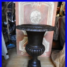 Antigüedades: COPA DE HIERRO GRANDE ALTURA 74 CM.. Lote 236687115