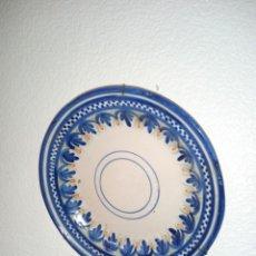 Antigüedades: ANTIGUO PLATO SIGLO XIX CERÁMICA DE RIBESALBES. Lote 236695875