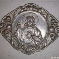 Antiquités: LOTE 2 CRISTOS PARA PUERTA. Lote 236706965