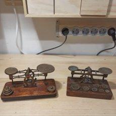 Antigüedades: BALANZAS DE CORREOS INGLESAS. Lote 236708495