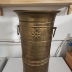 Antigüedades: PARAGÜERO LATÓN ANTIGUO. Lote 236709205