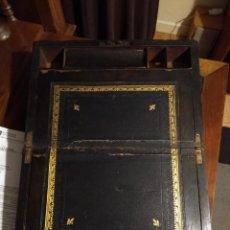 Antigüedades: ANTIGUO ESCRITORIO DE VIAJE VICTORIANO DE FINALES DE 1800. Lote 236717195