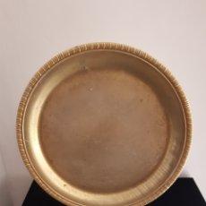 Antigüedades: ANTIGUA BANDEJA GRABADA ALPACA(?).. Lote 236753265