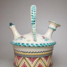 Antigüedades: ANTIGUO BOTIJO DE COLECCION-CANTIR -PUENTE DEL ARZOBISPO. Lote 236763020
