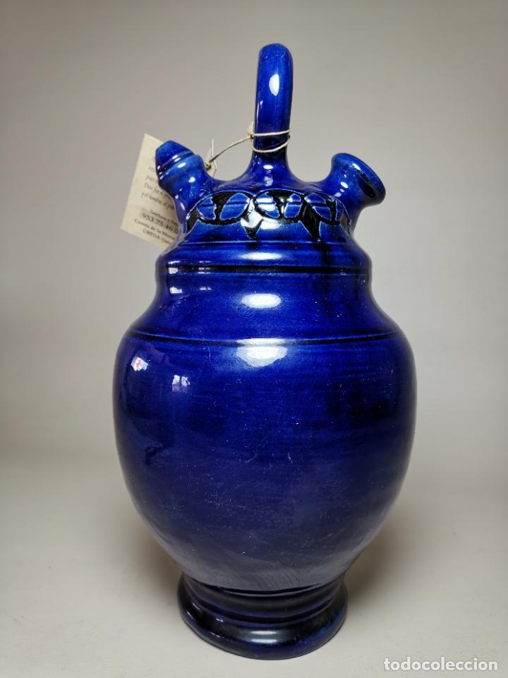 ANTIGUO BOTIJO DE COLECCION-CANTIR -GONGORA UBEDA JAEN (Antigüedades - Porcelanas y Cerámicas - Úbeda)