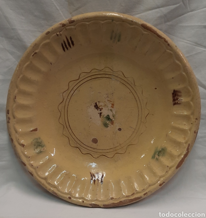 PLATO CATALÁN MATARO SIGLO XIX (Antigüedades - Porcelanas y Cerámicas - Catalana)