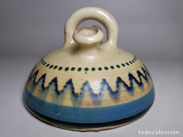 Antigüedades: ANTIGUO BOTIJO DE COLECCION-CANTIR-NEVERA --LA BISBAL GIRONA--SETCASES - Foto 5 - 236815775