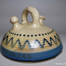 Antigüedades: ANTIGUO BOTIJO DE COLECCION-CANTIR-NEVERA --LA BISBAL GIRONA--SETCASES. Lote 236815775