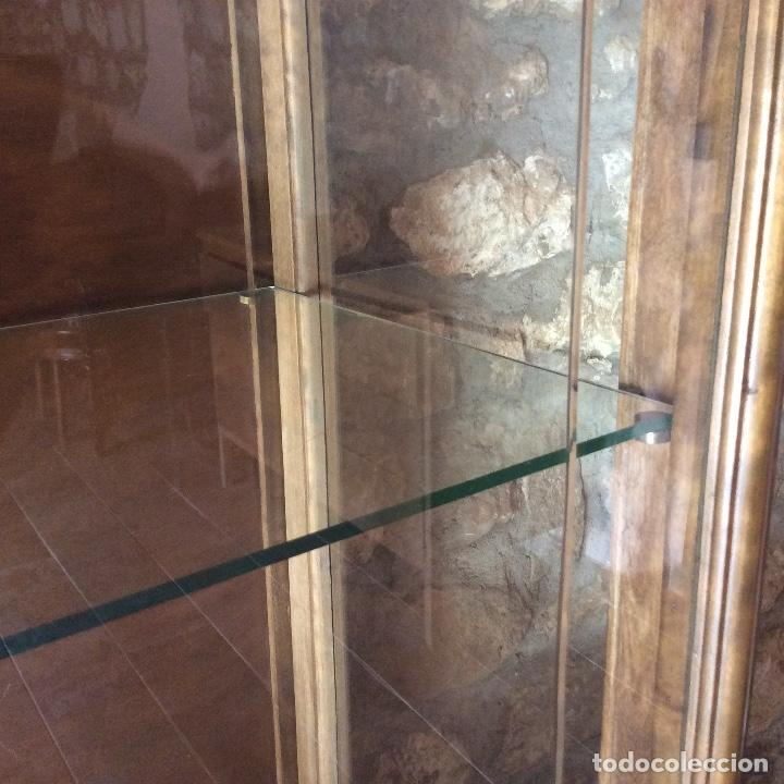 Antigüedades: Antique Deux Corps Display Cabinet and Sideboard - Foto 4 - 236819105