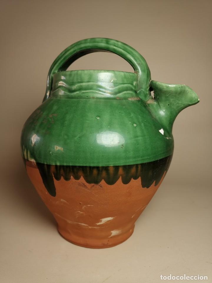 Antigüedades: ANTIGUO BOTIJO DE COLECCION-CANTIR- LA BISBAL--DE POU - Foto 2 - 236819775