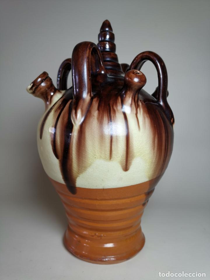 ANTIGUO BOTIJO DE COLECCION-CANTIR- LA BISBAL--SETCASES (Antigüedades - Porcelanas y Cerámicas - La Bisbal)