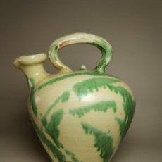 Antigüedades: ANTIGUO BOTIJO DE COLECCION-CANTIR- LA BISBAL--D´OLI --ACEITE. Lote 236820515