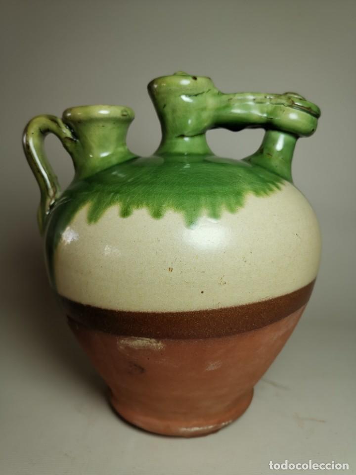Antigüedades: ANTIGUO BOTIJO DE COLECCION-CANTIR- LA BISBAL--FIGUERES - Foto 5 - 236820615