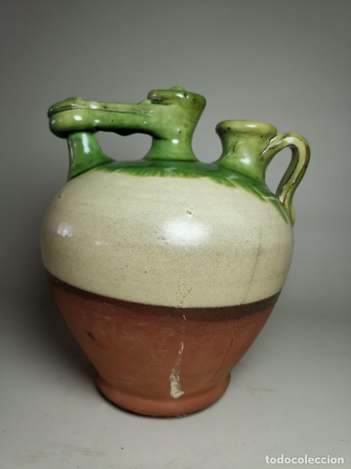 Antigüedades: ANTIGUO BOTIJO DE COLECCION-CANTIR- LA BISBAL--FIGUERES - Foto 7 - 236820615