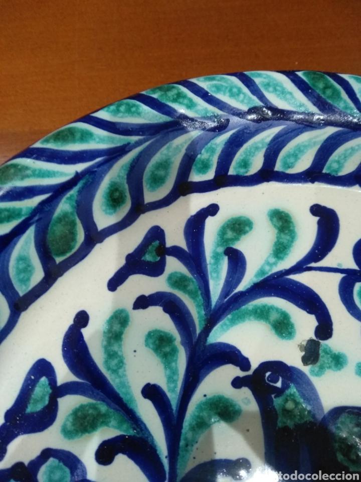 Antigüedades: Bellísimo plato Fajalauza. - Foto 3 - 236846000