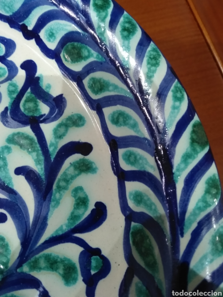 Antigüedades: Bellísimo plato Fajalauza. - Foto 6 - 236846000