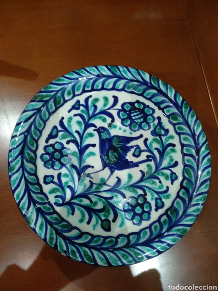BELLÍSIMO PLATO FAJALAUZA. (Antigüedades - Porcelanas y Cerámicas - Fajalauza)