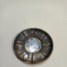 Antigüedades: PEQUEÑA BANDEJA DE PLATA. PLATILLO, PLATO. BANDEJA DE PEQUEÑO TAMAÑO. Lote 236847890
