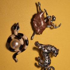 Antigüedades: ALFILERES DE PARA PAÑUELOS .. Lote 236876080