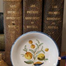 Antigüedades: PLATO ALCORA LMN NUMERADO Y FIRMADO. Lote 236912940