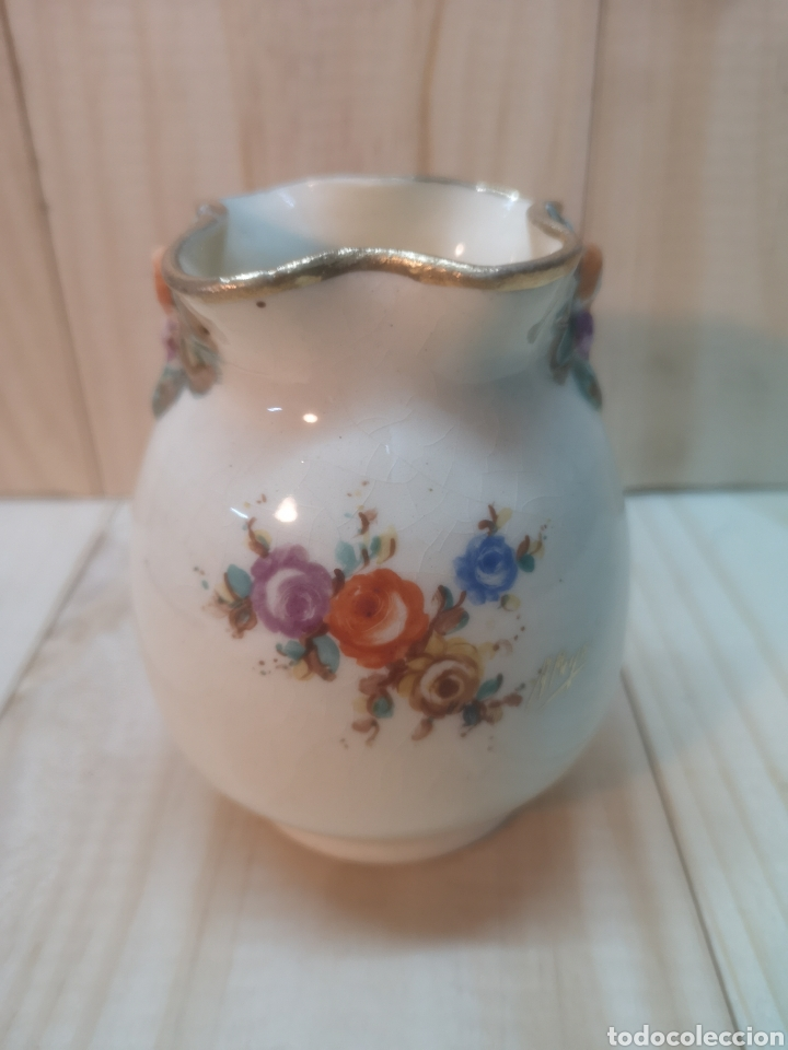PRECIOSO JARRONCITO DE PORCELANA ESPAÑOLA A. PEYRO (Antigüedades - Porcelanas y Cerámicas - Otras)