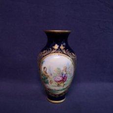 Antigüedades: JARON PORCELANA ESTILO SEVRES. Lote 236918090