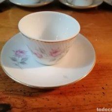 Antigüedades: JUEGO DE CAFE SANTA CLARA. Lote 236927635