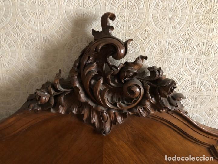 Antigüedades: 2 Cabezales y pie de camas individuales Antigua Luis XV. - Foto 3 - 236998090