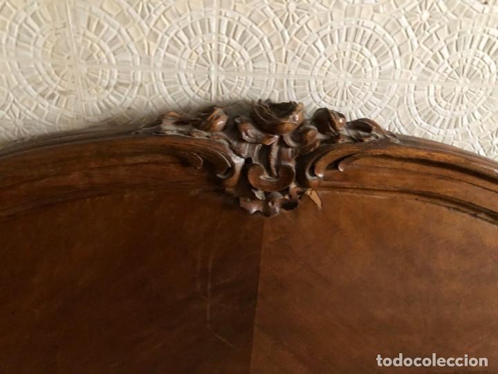 Antigüedades: 2 Cabezales y pie de camas individuales Antigua Luis XV. - Foto 4 - 236998090