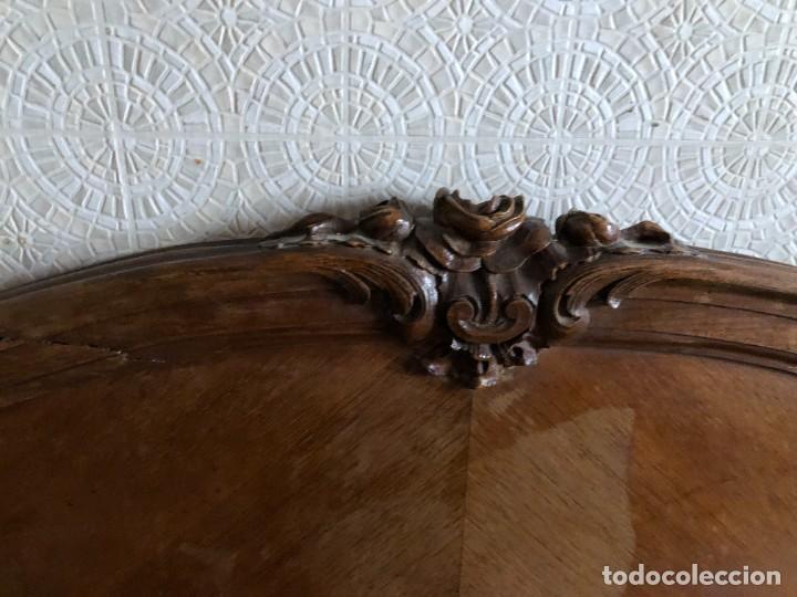 Antigüedades: 2 Cabezales y pie de camas individuales Antigua Luis XV. - Foto 8 - 236998090