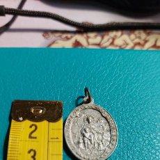 Antigüedades: MEDALLA CON IMAGEN SANTO. Lote 237018505