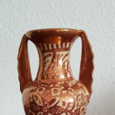 Antigüedades: JARRÓN REFLEJO METÁLICO GIMENO RÍOS. Lote 237046835