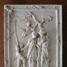 Antigüedades: PANEL CERÁMICO MOTIVOS CHINESCOS GRAN FORMATO. Lote 237113450