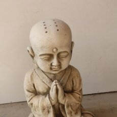 Antigüedades: BUDA EN PIEDRA ARTIFICIAL. Lote 237252870