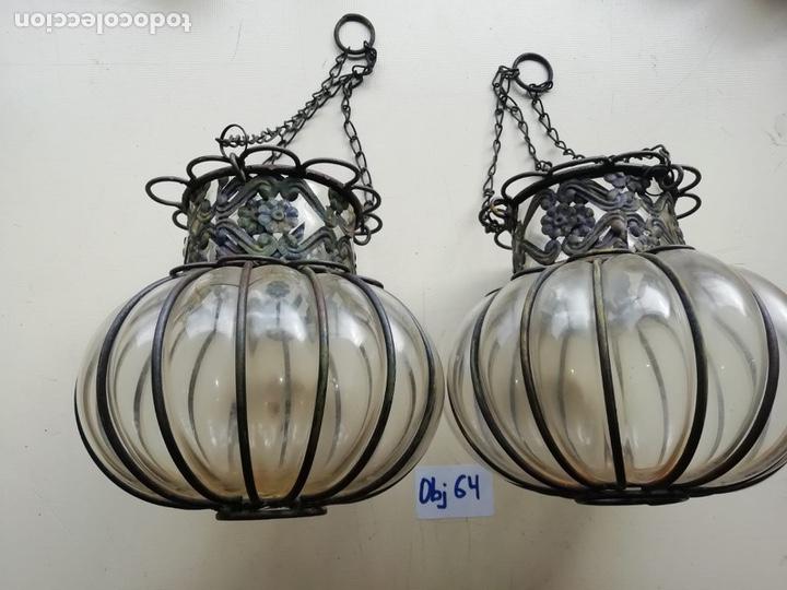 APLIQUES ANTIGUOS SIGLO XIX (Antigüedades - Iluminación - Apliques Antiguos)