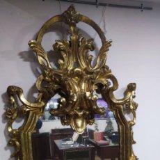 Antigüedades: GRAN ESPEJO PALACIEGO BARROCO SIGLO XVII / XVIII. Lote 237309660